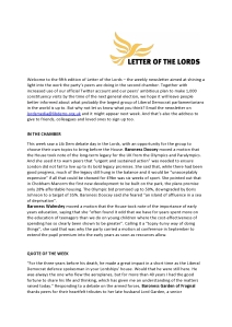 Letter of the Lords